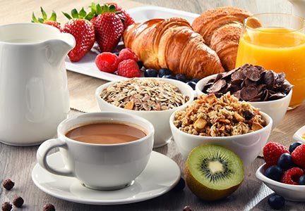 Hotel Breakfast Day