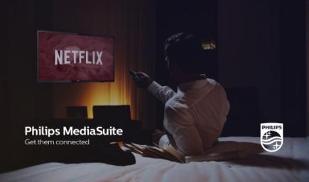 Philips e Netflix: da oggi insieme